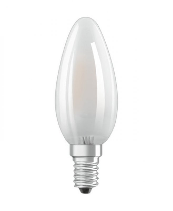 Osram Ledvance Parathom B 40 Kerze 4W-40W/827 E14 matt non dim