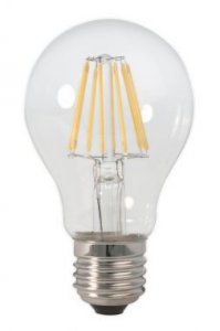 Calex Led Filament 4W E27 Standardlampe A60 klar dim