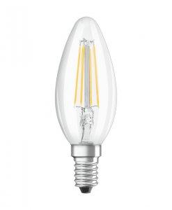 Osram Ledvance Parathom Filament 4W-40W/827 FIL E14 ClassicB40