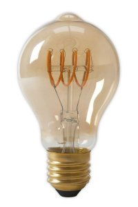 Calex Led Filament gedreht 4W E27 Goldline Standardlampen A60DR