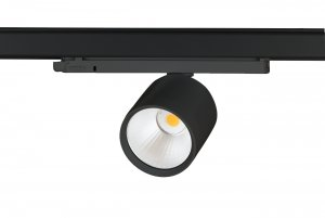 Lival Led Standard GA-016 34W/930 15° Spot clear white in weiss mit 3 Phasenadapter