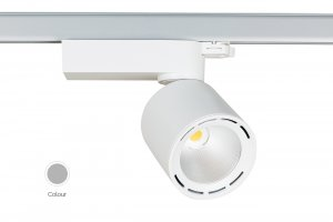 Lival Led Mini Lean GA69 35W/930 50° Wide Flood clear white in weiss mit 3 Phasenadapter