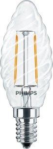 Philips CLA Fil LEDcandle 2W-25W/827 E14 ST35 non dim