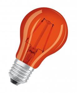 Led Filament 1,6W-15W Decostar Classic orange A15 E27 Osram Ledvance